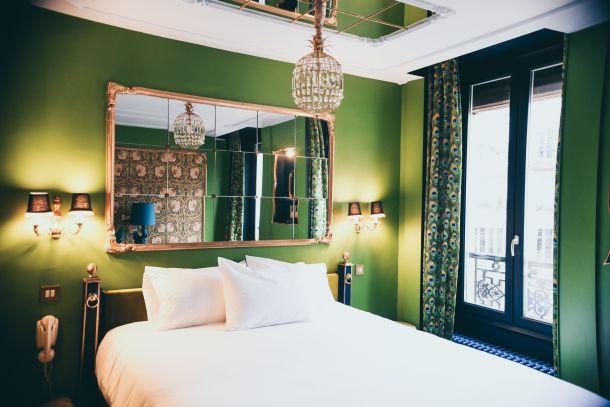 spavaca soba boje interijer