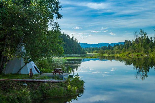 glamping camping sator kampiranje