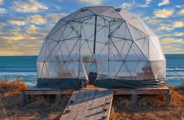 glamping u prozirnim kupolama