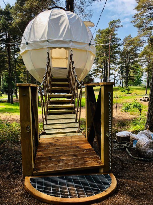 kupola za odmor u prirodi