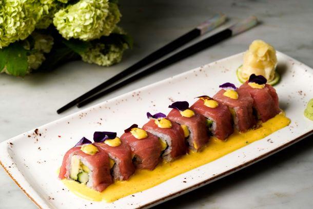 restoran Takenoko_Nikkei sushi