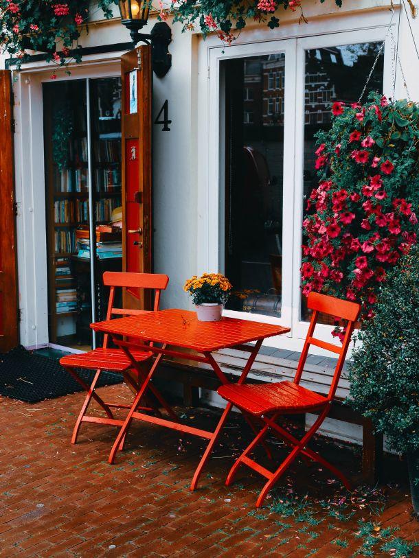 stol i stice terasa