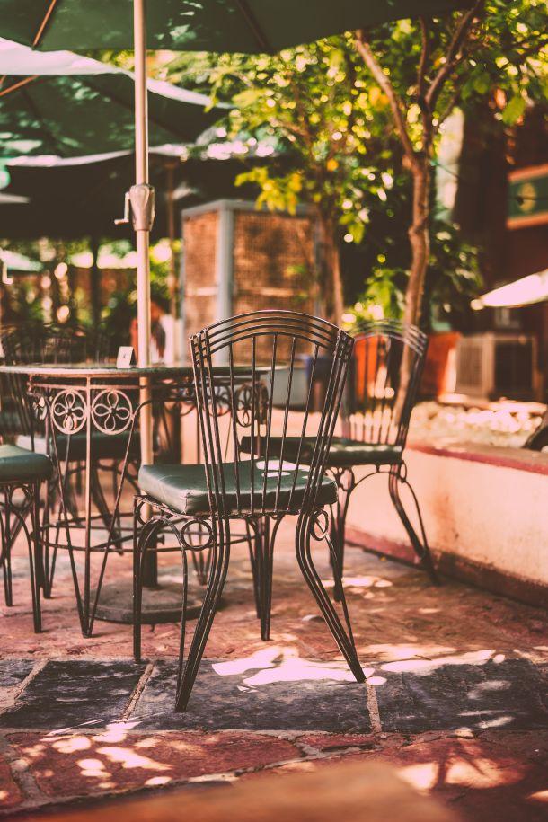 vrtna stolica vrt terasa