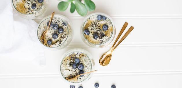 booster smoothie borovnica jogurt banana