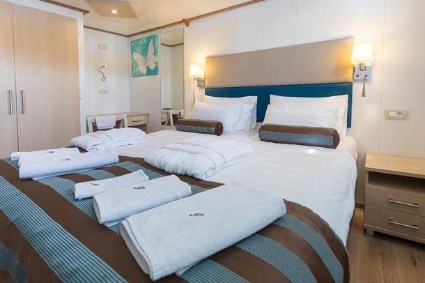 kabine na brodu paradise krstarenje