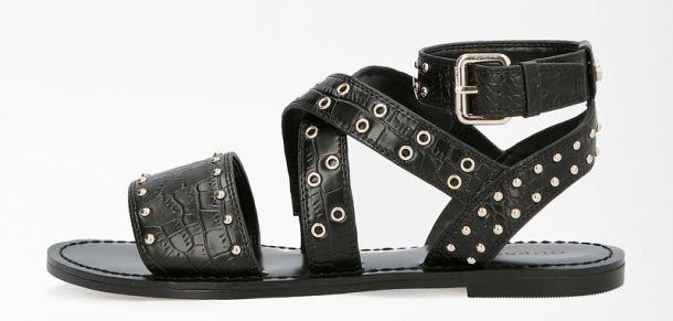 Guess crne sandale rasprodaja