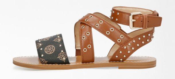 Guess kozne sandale