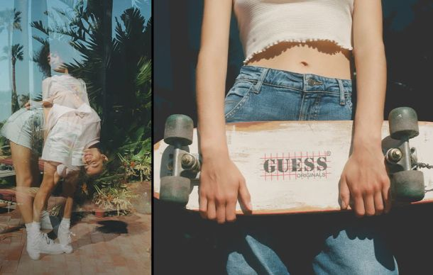 Guess traperice jeans