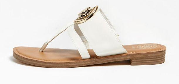 bijele sandale snizenje