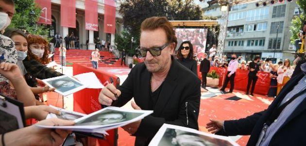 Bono Vox i Wim Wenders na crvenom tepihu 27. Sarajevo Film Festivala