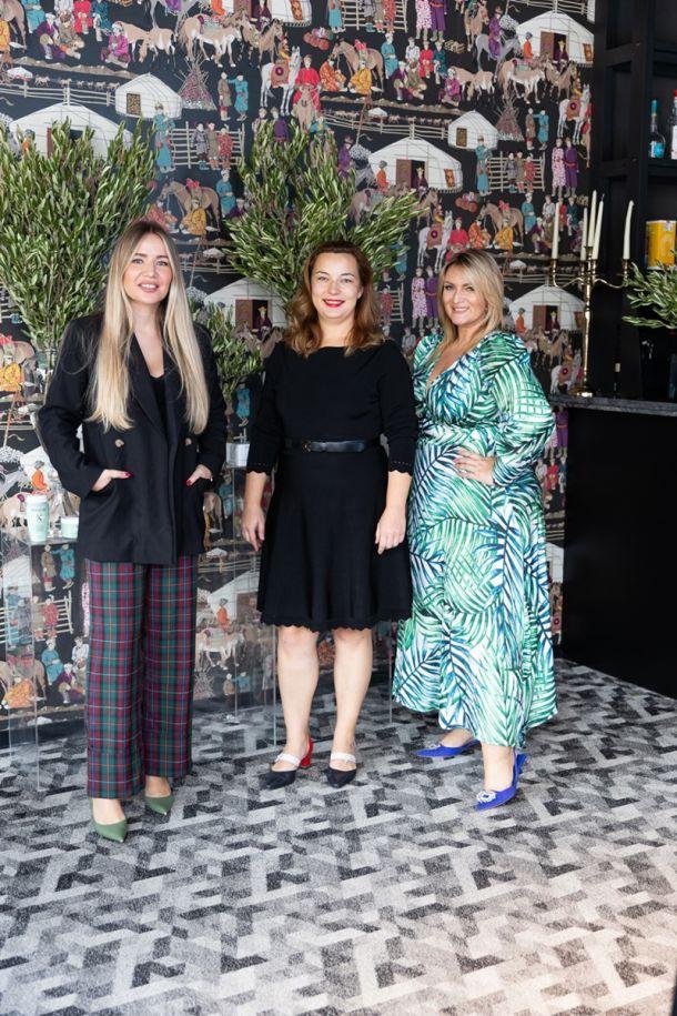 Ana Androsevic, Andrea Tunjic, Ivana Mijatovic (L'Oréal Adria)