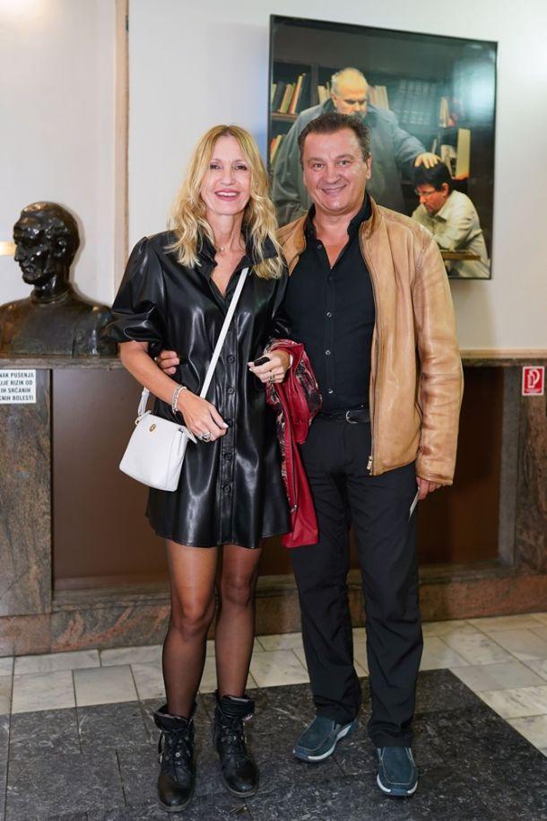Boris Svrtan sa suprugom