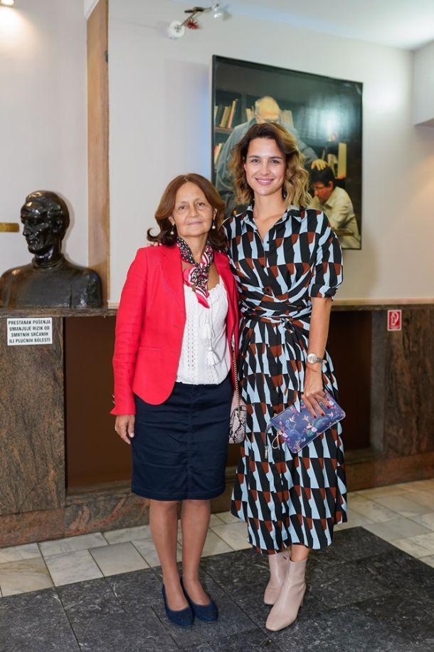 Doris Pincic s majkom