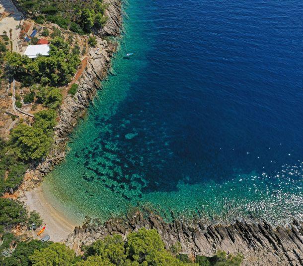 otok hvar iz zraka
