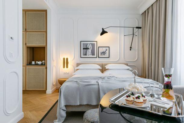 soba hotel split FERMAI DELUXE BALCONY