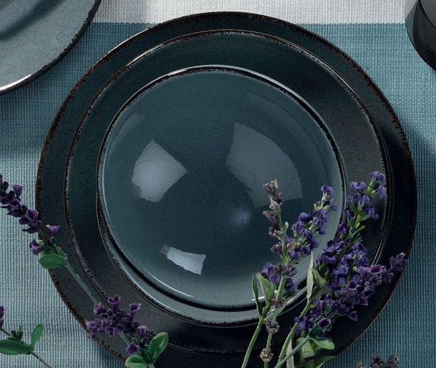 tanjuri vivre snizenje 24-dijelni servis za jelo Margin Black